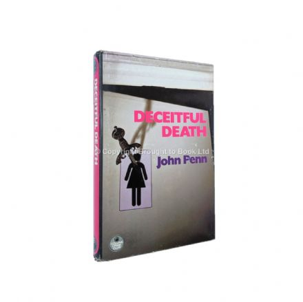 Deceitful Death by John Penn First Edition The Crime Club by Collins 1983
